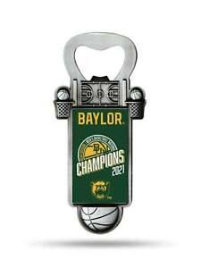Baylor Bears 2020-2021 NCAA Basketball National Champions Magnetic Bottle Opener