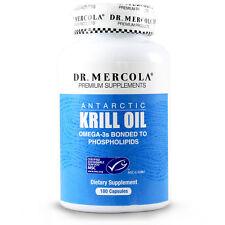 Dr. Mercola Krill OIl - 1000 mg Antarctic Krill Oil - 180 Capsules