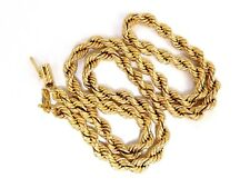 14 Karat Gold Vintage Rope Chain