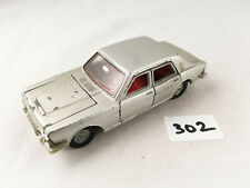 DINKY TOYS # 164 FORD ZODIAC MK 4 DIECAST SALOON MODEL CAR SILVER 1967 VGC