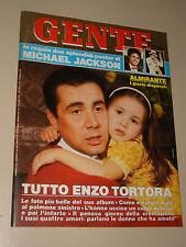 GENTE 1988/22=ENZO TORTORA=MICHAEL JACKSON=GABRIELE LAVIA=BEATRICE CORI=VARAGO=