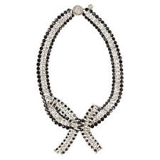 Outstanding Guy Laroche Crystal and Jet Necklace Paris