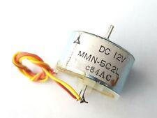 Matsushita - MMN-5C2L 12v dc Cassette Deck Type Motor 12vdc Bare Spindle CCW NOS