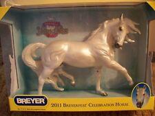 BREYER SR SPECIAL RUN BREYERFEST 2011 PECOS LIGHT GRAY ESPIRIT HORSE