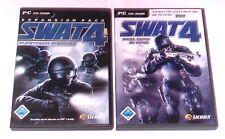 """PC SPIELE """" SWAT 4 STETCHKOV SYNDICATE + SPECIAL WEAPONS AND TACTICS"""