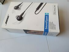 Genuine Bose SoundSport In-Ear Headphones Headset With Mic For iPhone/iPod/iPad