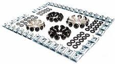 Werkstatt Schrauben Clips Set schwarz + Unterlegscheiben Kunststoff + Klemmen