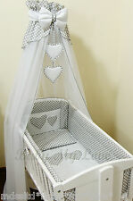 LOVELY  CANOPY DRAPE for BABY Basket Crib  /Craddle COT/COTBED/COT BED