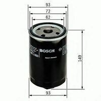 ENGINE OIL FILTER OE QUALITY REPLACEMENT BOSCH F026407004