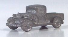 "Miniature Cast Metal 1934 Ford Pickup Truck 7/8"" Z Scale Model"