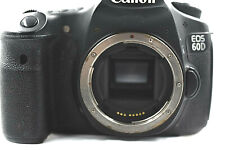 """Canon EOS 60D Digital Body Only """"for parts or not working."""" as is.see photos."""