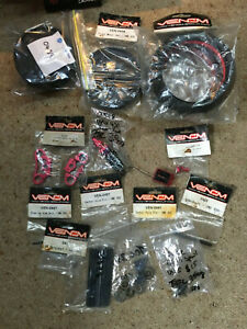Atomik Venom VMX 450 1/4 scale RC dirtbike parts lot NOS