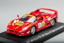 FERRARI F50 Racing #1 Winner Macau GP SuperCup 1996 DETAIL CARS 1:43