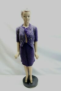Vintage 1940's Mannequin Sewing Pattern Doll