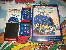 Space Battle Intellivision Game Complete Box Manual Inlay CIB Space-Battle
