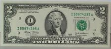 $2 Dollar Bill Federal Reserve Note 2003 Very Good Condition F23483015A