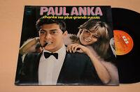Paul Anka 2LP I Plus 'Grandi Hits 1975 EX Come New
