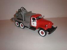 1/43 Russian fire truck ZIL-157 AGVT 100 / 1950-1960 Handmade/ Kimmeria