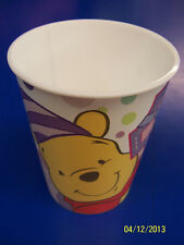 RARE Winnie the Pooh 1st Birthday Girl Pink Party Favor 16 oz. Plastic Cup *