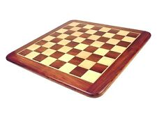 "Wooden Chess Board Golden Rosewood  21"" Tournament - House of Chess"