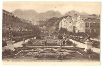 CPA 06 Alpes-Maritimes Menton Le Jardin Public animé