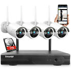 SmartSF 8CH 1080P Wireless Outdoor Security camera system With 1TB hard drive