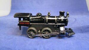 Hafner Prewar Early Large 112 Cast Iron Clockwork Steam Locomotive! CT