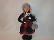 Byers Choice 1996 Sweet Blond Teen Girl with Coin and Purse