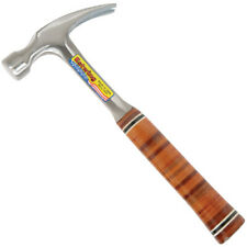 Estwing 16oz Straight Claw Nail Hammer with Leather Grip E16S