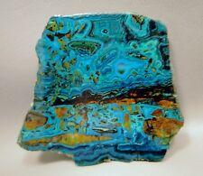 Chrysocolla Malachite 4 inch Polished Gemstone Slab Rock Stone Arizona #6