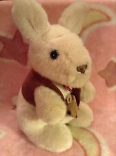 Good Quality Heavy Plush Stuffed Kangaroo & Joey In Pouch Soft Toy Doorstop