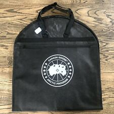 Canada Goose Brand New Arctic Program Black Garment Bag 100% AUTHENTIC ~ NEW!