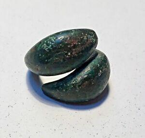 bronze hair ring