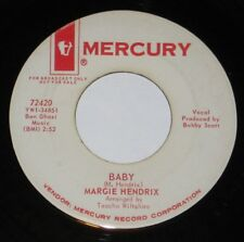 "Margie Hendrix 7"" 45 DJ PROMO HEAR NORTHERN SOUL Baby MERCURY #72420 Packin Up"