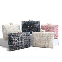 shoulde bags for women 2019 luxury handbags cotton clutches evening bag wallet