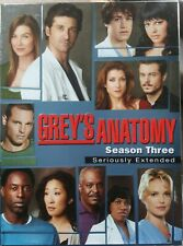 Greys Anatomy - The Complete Third Seaso DVD