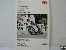60-MOTO GP GRAND PRIX MACHINES 3B JOHN COOPER SEELEY 500    CARD