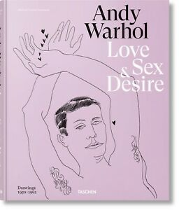2. Andy Warhol Love, Sex and Desire First Edition Book