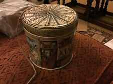 Emma Bridgewater Potting Shed pattern Tin with String 11x11cms