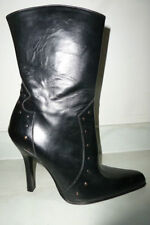 Faith Stiletto 100% Leather Boots for Women