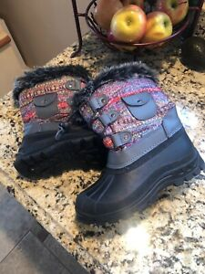 Thinsulate Kids Boots Size 3