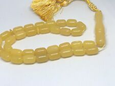 33 Gram Natural Poland Amber Beads Rosary مسباح كهرمان كهرم اصلى قديم #NN14