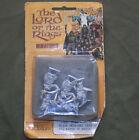 Vintage Lot 25mm Metal Heritage Lord of the Rings Black Uruk Hai 1970s Blister