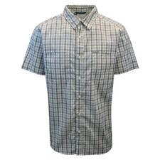 Columbia Men's Grey & White Plaid Thirty Mile Ledge EXS S/S Woven Shirt (317)