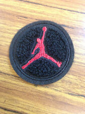 Michael Jordan Jump Man Chenille Embroidery Applique Patch 1 1/2 Inch