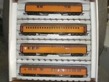 HO IHC UNION PACIFIC 4 CAR PASSENGER CAR SET RR9690