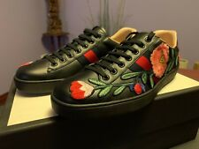 Gucci Sneakers Ace w/Flower Embroidery, US10