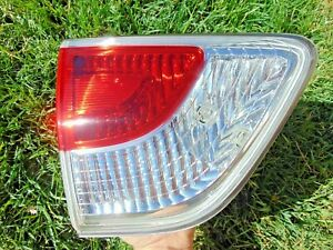 13-16 Nissan Pathfinder Inner Tail Light Assembly LH Drivers Tested OEM