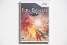 Fire Emblem Radiant Dawn Wii US NTSC Brand New Factory Sealed Y-Fold RARE