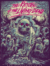 The Return of The Living Dead - GODMACHINE - AP - Rare Limited Edition Print